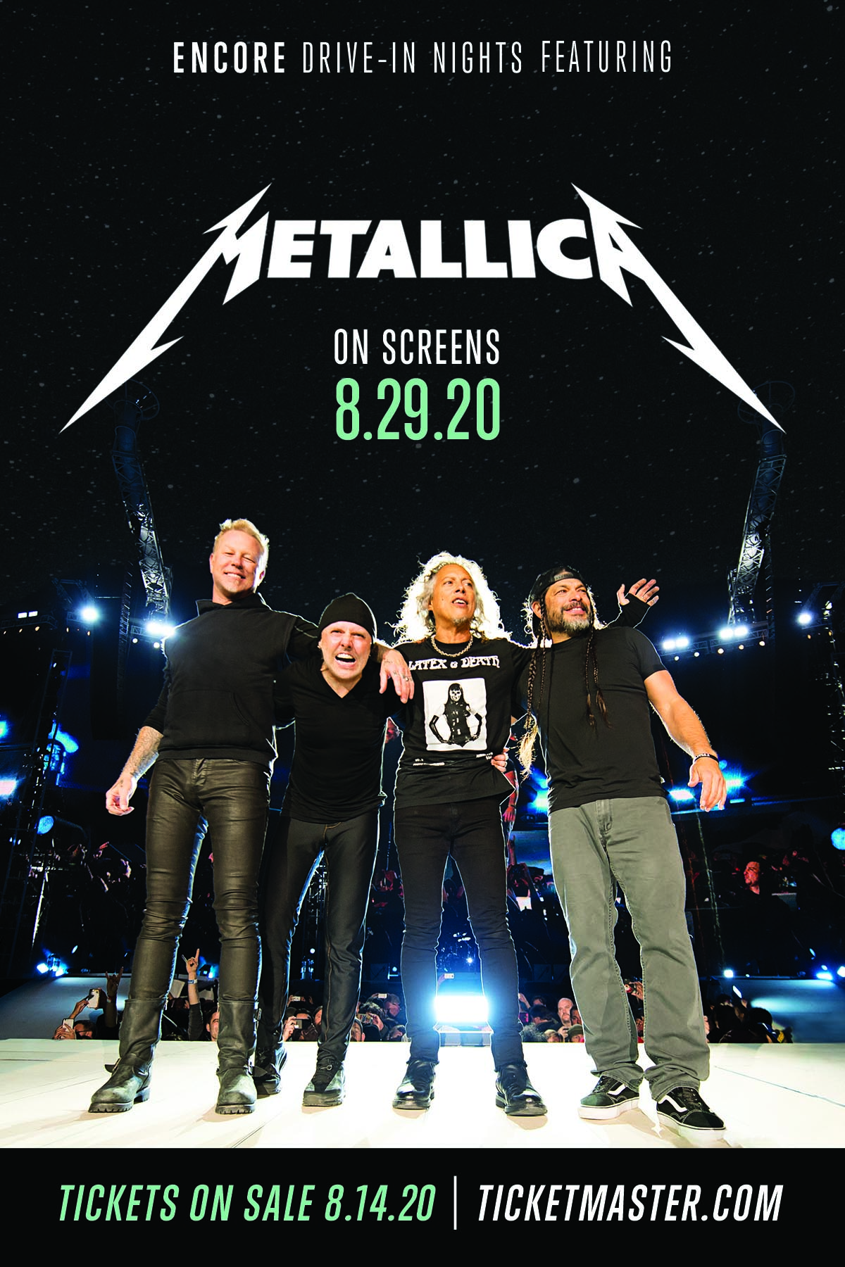 Metallica Live At The Drive In Solid Rock 94 1 Wjjo Fm Madison Wi